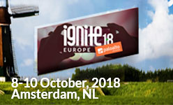 Ignite 2018, Amsterdam, Netherlands