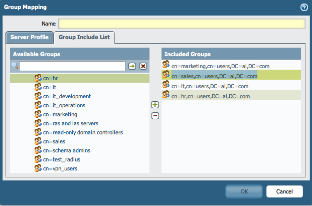 Palo Alto Networks Knowledgebase: Configuring Group Mappings