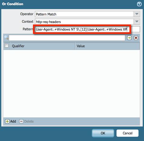 pattern for custom vulnarability for pdf in palo alto
