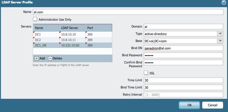 Palo Alto Networks Knowledgebase: Improve LDAP