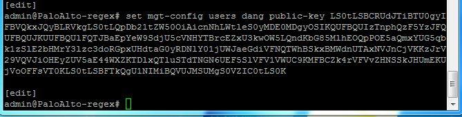Error 'Invalid Public Key Format' Config SSH Public Key Auth
