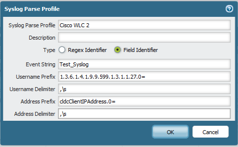 Use Syslog Receiver to Integrate with Cisco Wireless