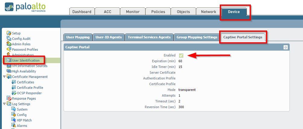 Palo Alto Networks Knowledgebase: Troubleshooting Captive