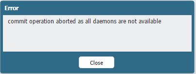 commit operation aborted as all daemons are not available.JPG