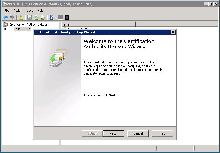 Live community how to implement certificates issued from microsof backup ca2g yadclub Choice Image