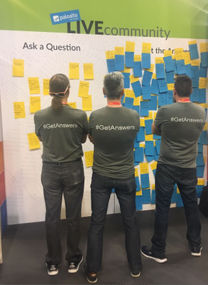 Dig in for our final round of Q&A from the towering 'answer wall' at our Ignite booth.