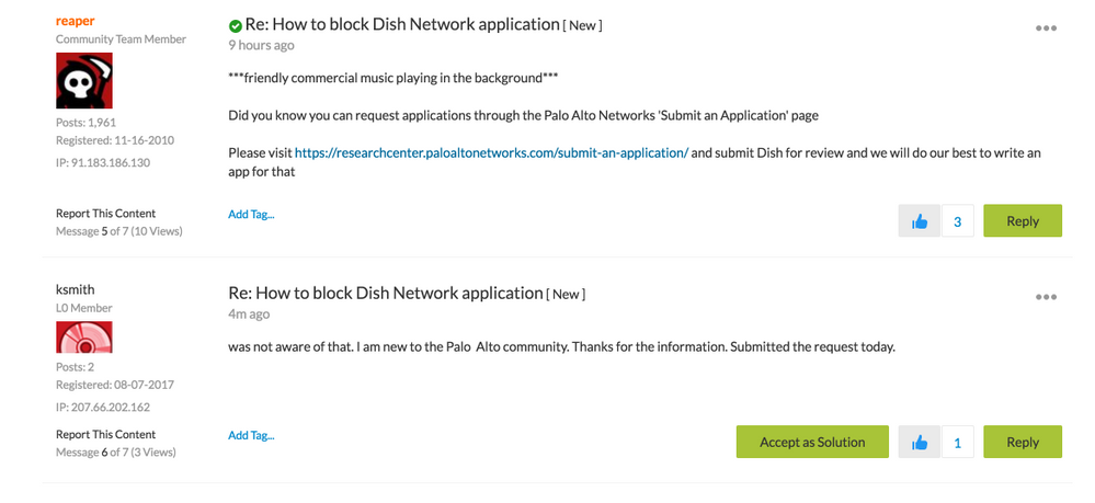 How to block Dish Network application generates a lively discussion, ideas, and resources. That's the power of community!