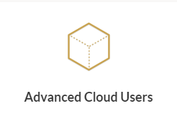 Advanced Cloud Users Logo