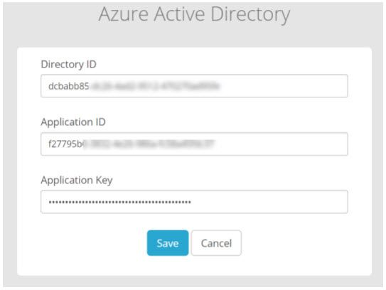 Screenshot of Azure Active Directory