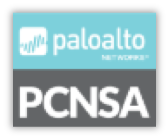 PCNSA certification for Cybersecurity logo