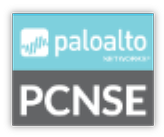 PCNSE certification for Cybersecurity logo
