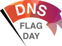 DNS Flag Day banner