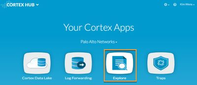 View of Explore in Your Cortex Apps.