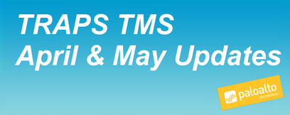 TRAPS TMS April and May Updates