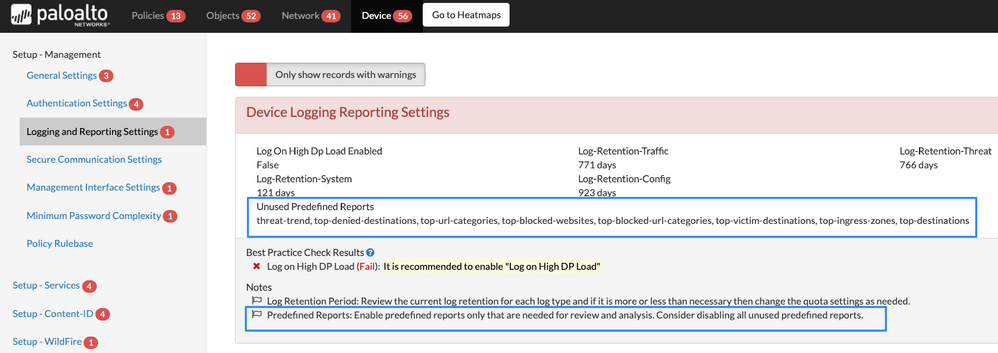 View of Device Logging Reporting Settings.png