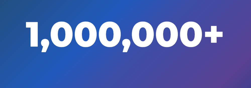 LIVEcommunity YouTube channel now boasts over 1,000,000 views. That's one fun number to celebrate!