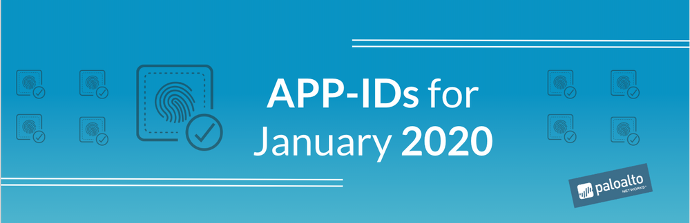 App-IDs for January 2020