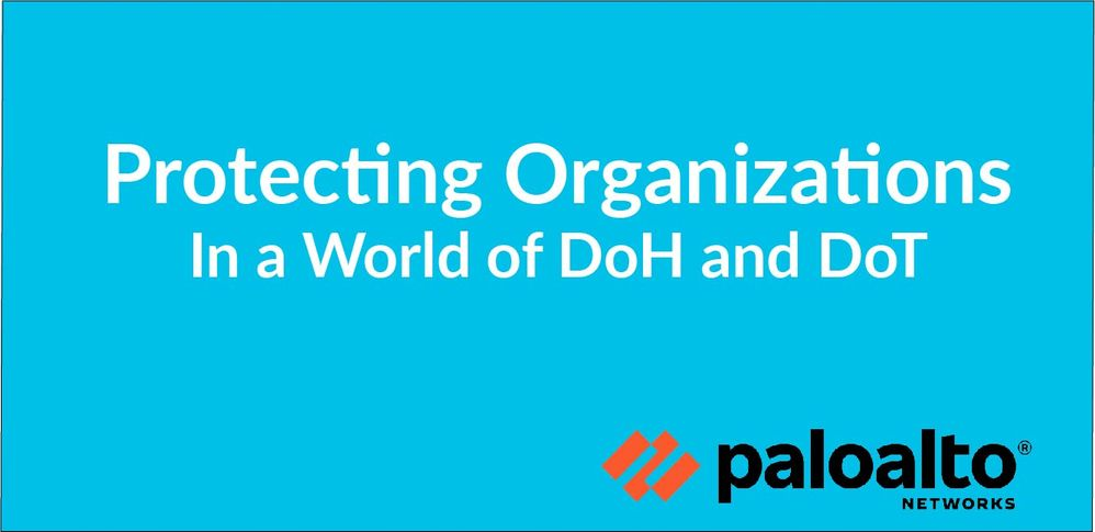 Protecting Organizations in a World of DoH and DoT