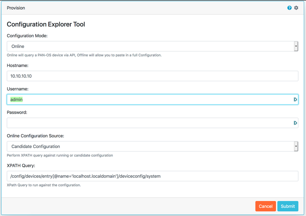 Configuration Explorer Tool Preview