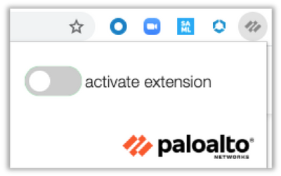Palo Alto Networks Google Chrome Extension Deactivated
