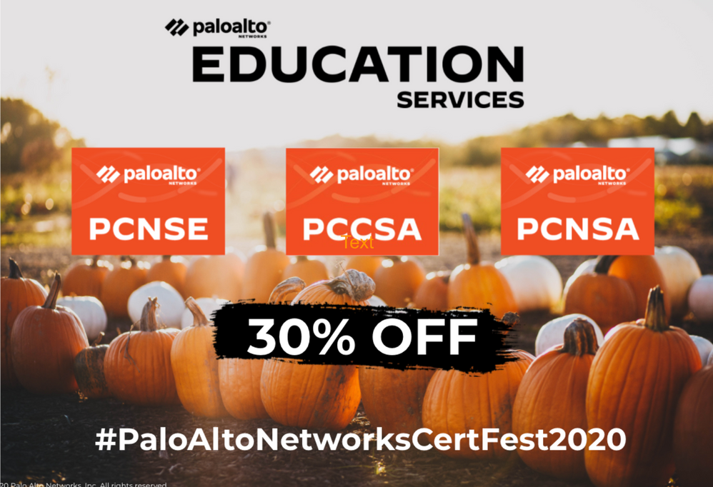30 percent off certifications October discount.png