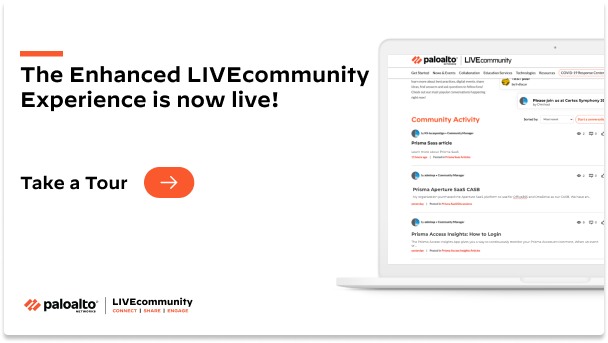 The enhanced LIVEcommunity experience is here!