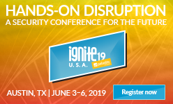 Ignite 2019, Austin, Texas