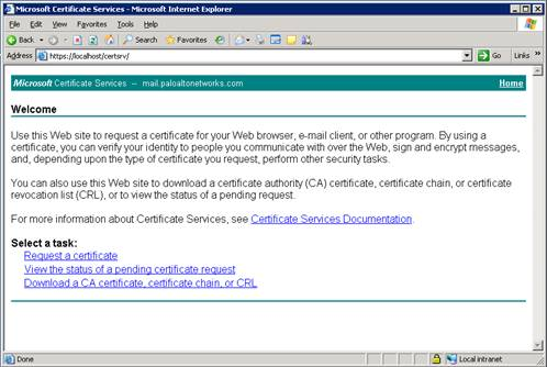 Live Community - How to Create Subordinate CA Certificates with Mic ...